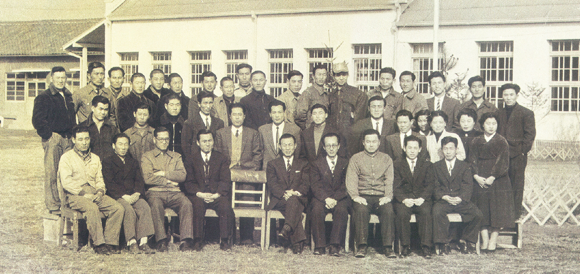 All employees of NOROO in 1956